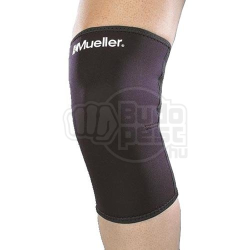 Knee Sleeves, Mueller, Neoprene Blend, Closed Patella, black