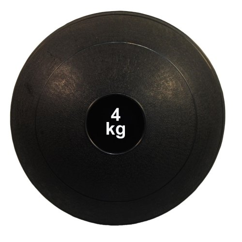 Medicine ball, Phoenix, black, 4 kg