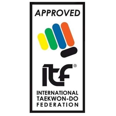 Taekwondo öv, Top Ten, ITF, piros, 220 cm méret