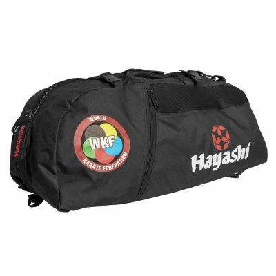 "Backpack-Sportsbag-Dufflebag combination ""WKF"", black, large"
