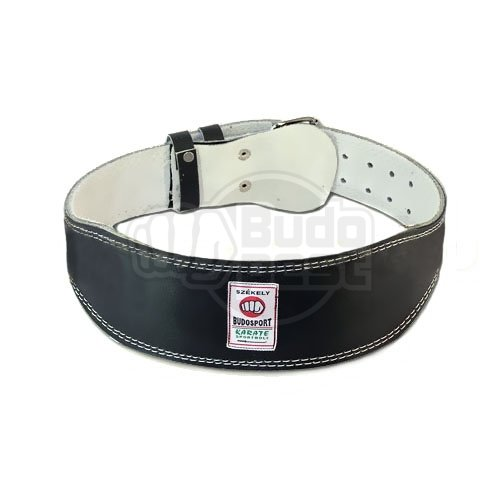 Weight-lifter belt, Saman, extruded leather, S size