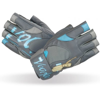 Fitness Gloves, Madmax, Voodoo, for women, Kék-szürke szín, S size