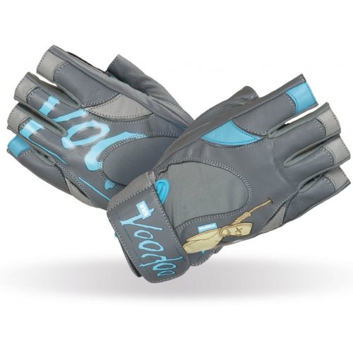 Fitness Gloves, Madmax, Voodoo, for women, Kék-szürke szín, M size
