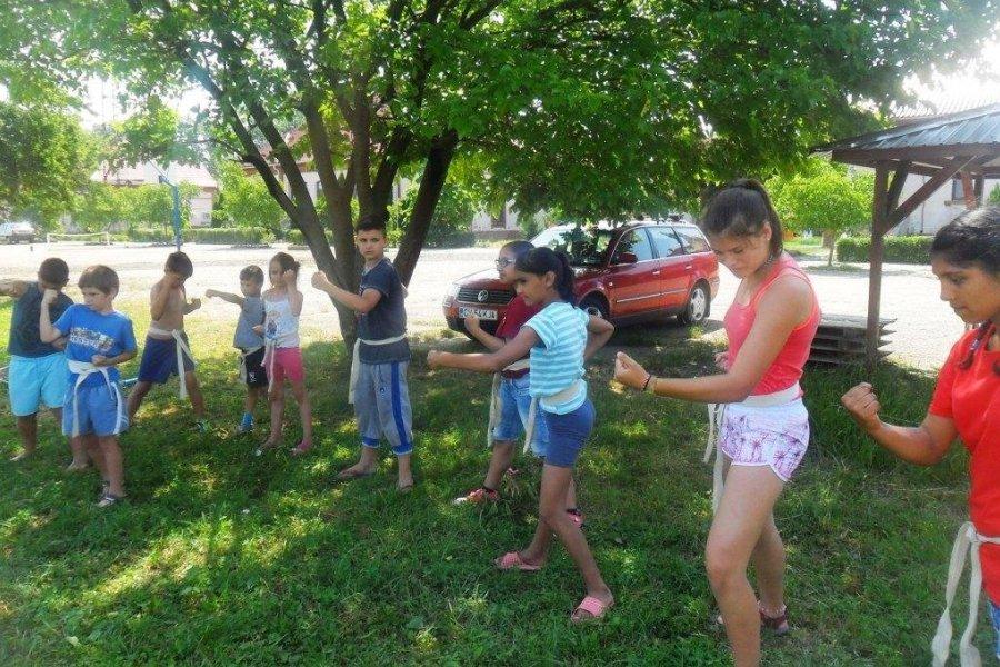 Harcművészet gyerekeknek Nagyszalontán