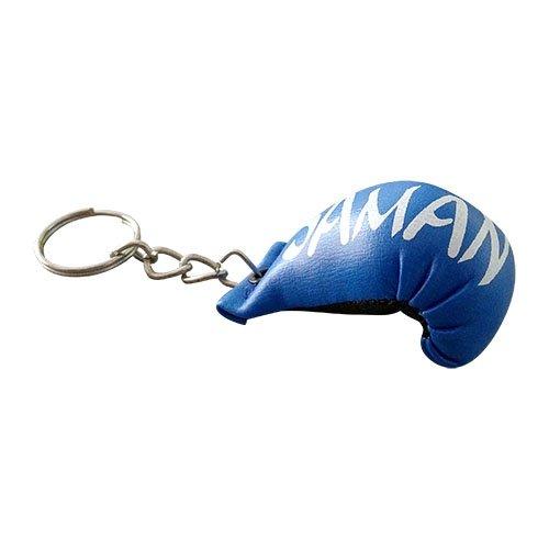 Key ring, Saman, Boxing Gloves, blue