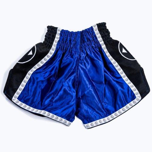 Thai-Box nadrág, Saman, Colours 1985, polyester, kék/fekete