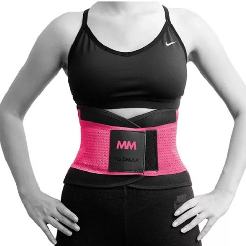 Slimming and support belt, Madmax, pink szín, L size