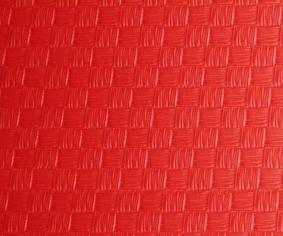 Karate and Judo Tatami, Basic Puzzle, red, 1m x 1m x 2 cm size
