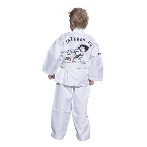 Taekwondo ruha, Top Ten, ITF Kids, fehér, 100 cm méret