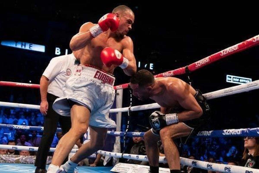 Eubank Jr. hatalmas győzelmet aratott