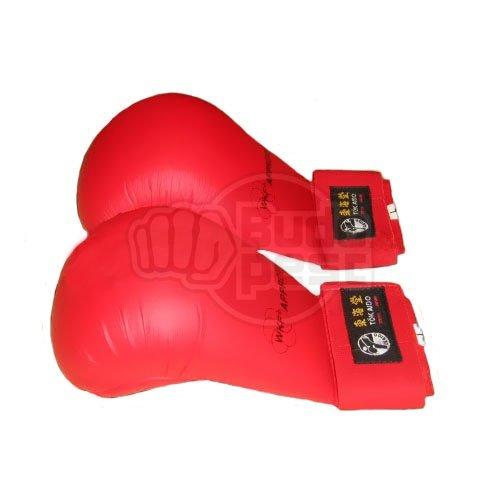 Seikenvédő, Tokaido, WKF, műbőr, piros, S méret