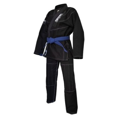 Ju-Jitsu uniform, Saman Kid, black, Y00 méret