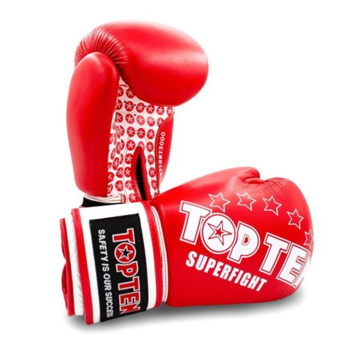 "Boxing gloves ""Superfight 3000"", Piros szín, 10 oz méret"