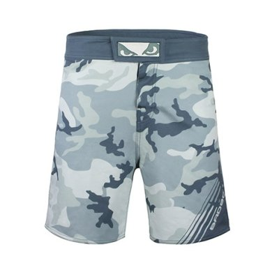 MMA short, Bad Boy, Soldier, grey, S size