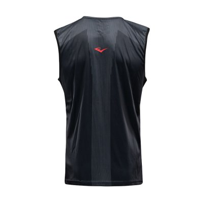 Boxing vest, Everlast, Jab, male, black-red, Fekete-piros szín, L méret