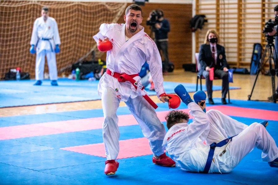 Jól sikerült a karatés Hárspataki Gábor olimpiai felkészülése