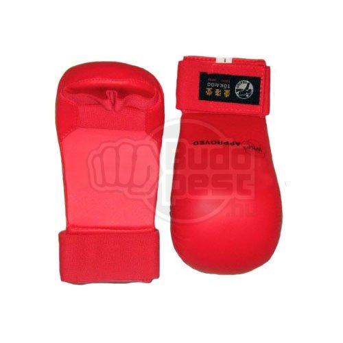Seikenvédő, Tokaido, WKF, műbőr, piros, XL méret