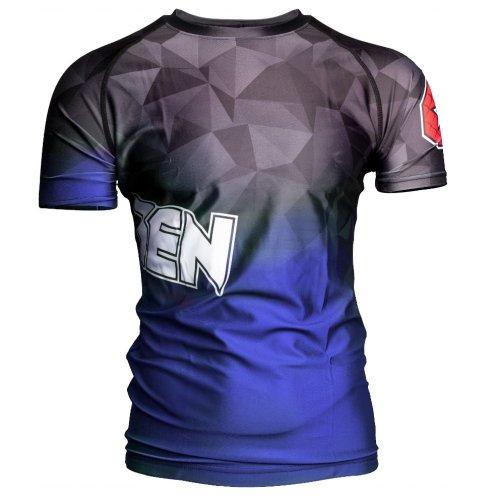 MMA Rashguard, Top Ten, Prism, Kék szín, XL méret