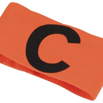 Captainband, velcro, orange