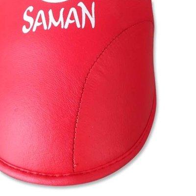 Instep Pad, Saman, karate, PU, red