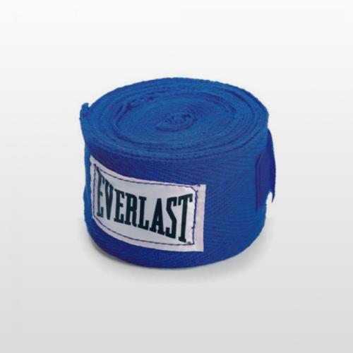 Bandázs, rugalmas, kék, 450 cm