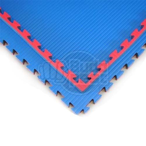 Judo Tatami, 1m*1m*4cm, Doitsu, blue-red