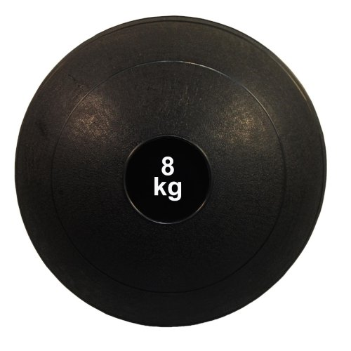 Medicine ball, Phoenix, black, 8 kg
