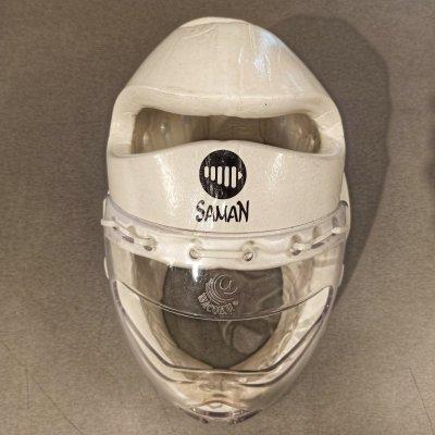 Fejvédő, Saman, Full Guard, fehér