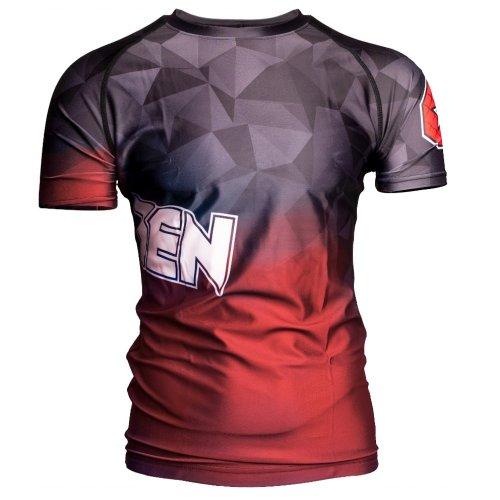 MMA Rashguard, Top Ten, Prism, Piros szín, L méret