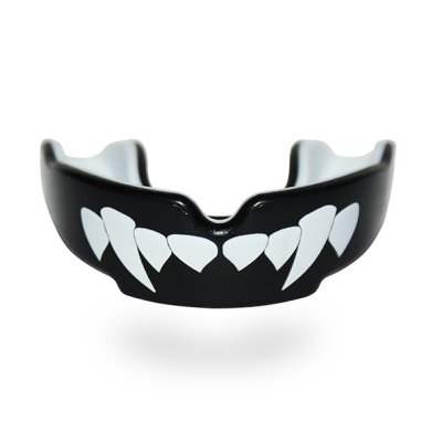 Mouthguard, SAFEJAWZ, Vampire, Gel, Black