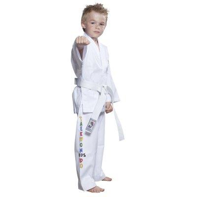 Taekwondo ruha, Top Ten, ITF Kids, fehér, 120 cm méret