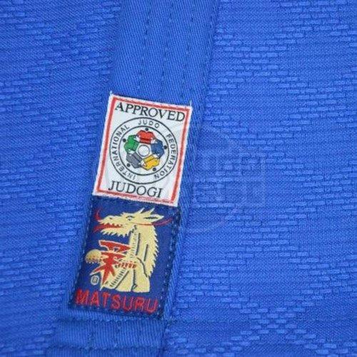 Judogi, Matsuru, IJF, Slim Fit, blue