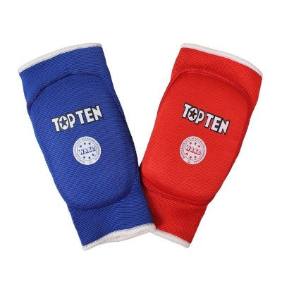 Elbow Pad, Top Ten, WAKO, Reversible, red/blue