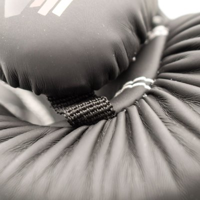 Boxing gloves, Top Ten, 4select, nubuk leather, Fekete szín, 12 oz size