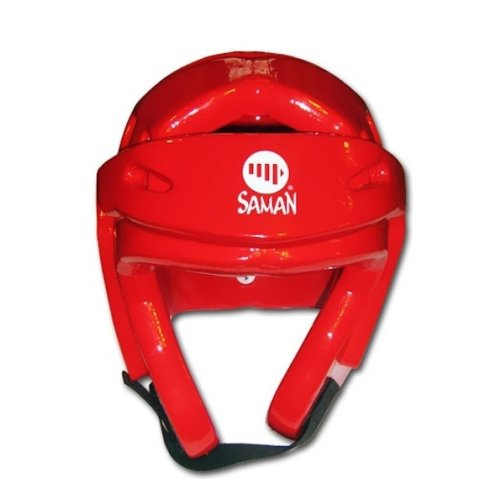 Headguard, Saman, Fight, Dipped foam, red