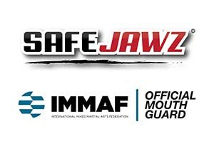 Fogvédő, SafeJawz, cápafog, kék/fehér