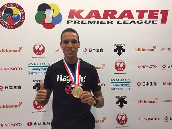 Márszi első aranya a Hayashi team tagjaként