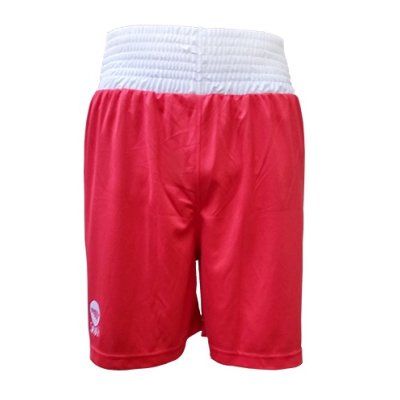 Boxing shorts, Saman, Competition, red, XL size