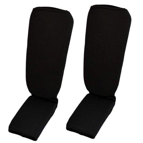 Lábfejes lábszárvédő, Phoenix, pamut, Fekete szín, XL méret