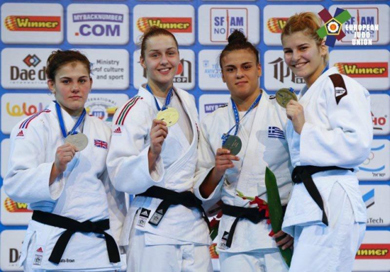 Magyar érmek a Judo Európa Bajnokságról