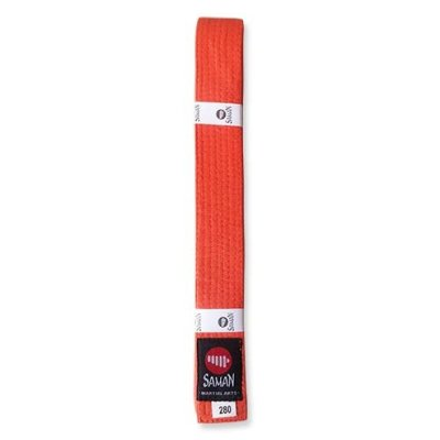 Belt, Saman, cotton, orange, 300 size