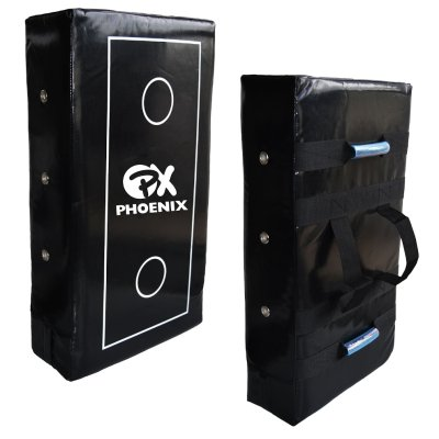 Straight shield, Phoenix, Pro Tech Max, PU, 70x40 cm, black