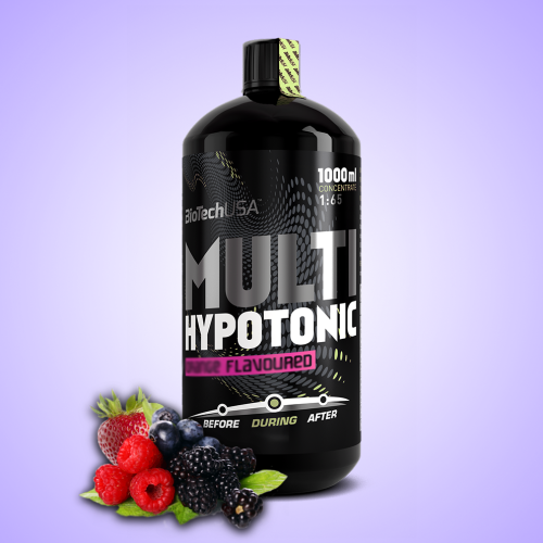 Biotech, Multi Hypotonic Drink, 1000 ml, Forest Fruit