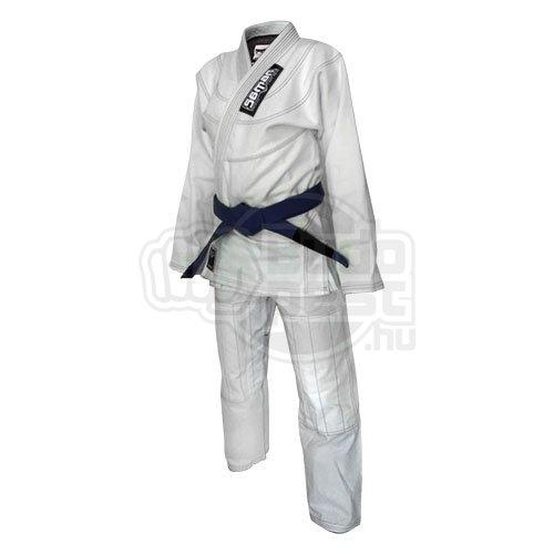 BJJ / Ju-Jitsu ruha, Saman Kid, 350g, fehér, A1 (160 cm) méret