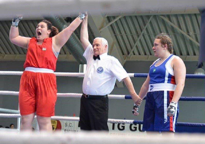 Juhász Adrienn Európa-bajnok