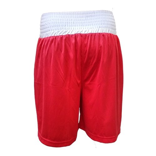 Boxing shorts, Saman, Competition, red, XXL size