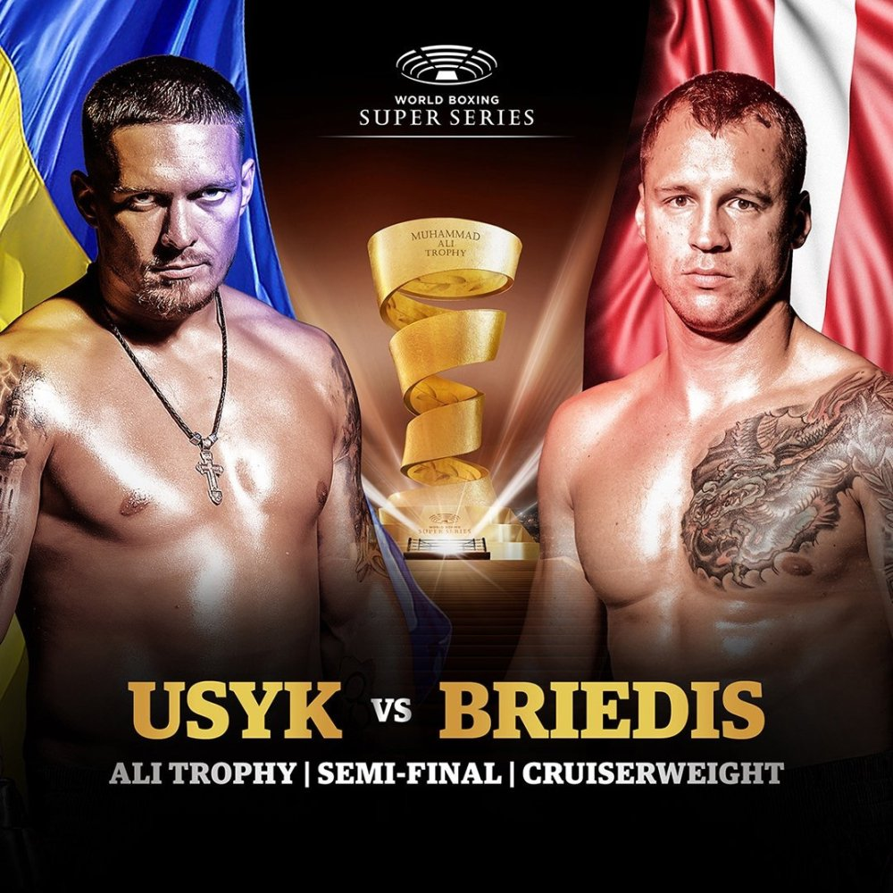 Briedis és Usyk már várja hétvégi nagy küzdelmet