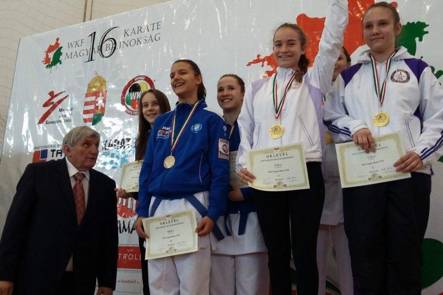 Bajnok minden szerződött karate versenyzőnk
