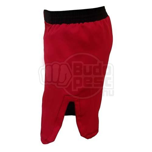 MMA shorts, Saman, Adamant, red, S size