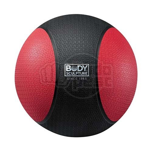Medicine ball 6 kg, rubber, Body Sculpture